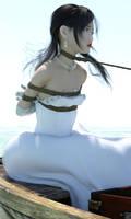 Pirate's booty princess Hashimoto