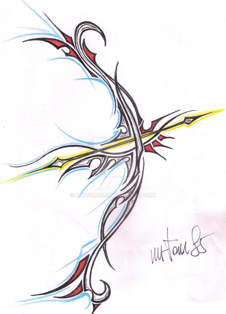 1a29152a1e663 tribal bow tattoo by mrtom85 on DeviantArt