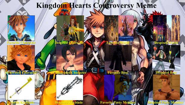 My Kingdom Hearts Controversy Meme