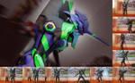 Cosplay of EVA-01