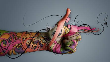 Amira Ismail Gewaifel  Hand-Creative-Art by amiragewaifel19