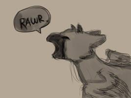 Rawr by Soda-Ink