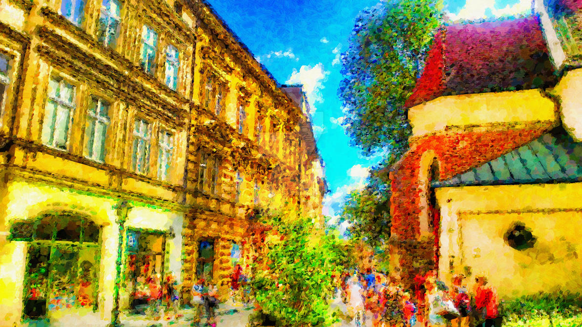 Colours Of Old Town 04 by gniewomirart