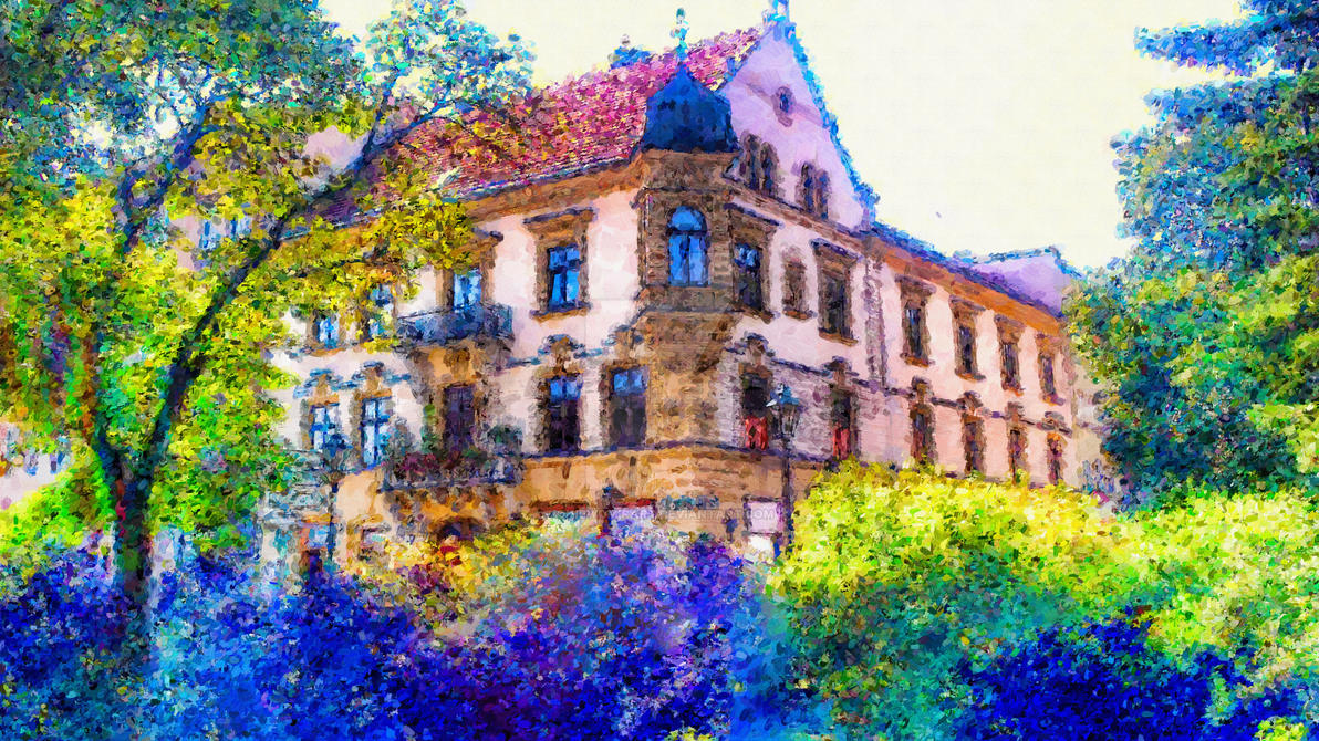 Colours Of Old Town 05 by gniewomirart
