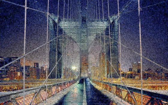 Around the world - New York at night 03