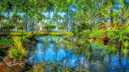 Around the world - tropical garden 04