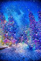 Around the world - happy world of christmas trees