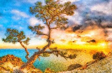 Around the world -tropical  sunrise 06