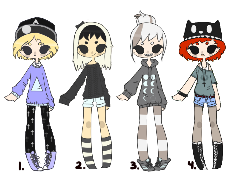 4 Human Adopts AUCTION [CLOSED] by Adopt-LM