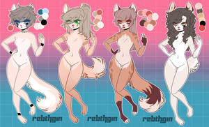+.Set adoptables 4.+ //Open// by ReinhardR