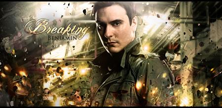 Breaking Benjamin sign by Nikolai09