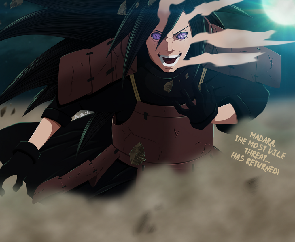 Naruto 656 - Madara Has Returned! by MarHutchy