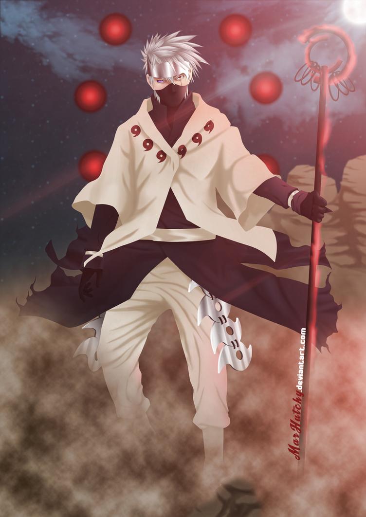 Rikudo Mode Kakashi (Fan Art) by MarHutchy