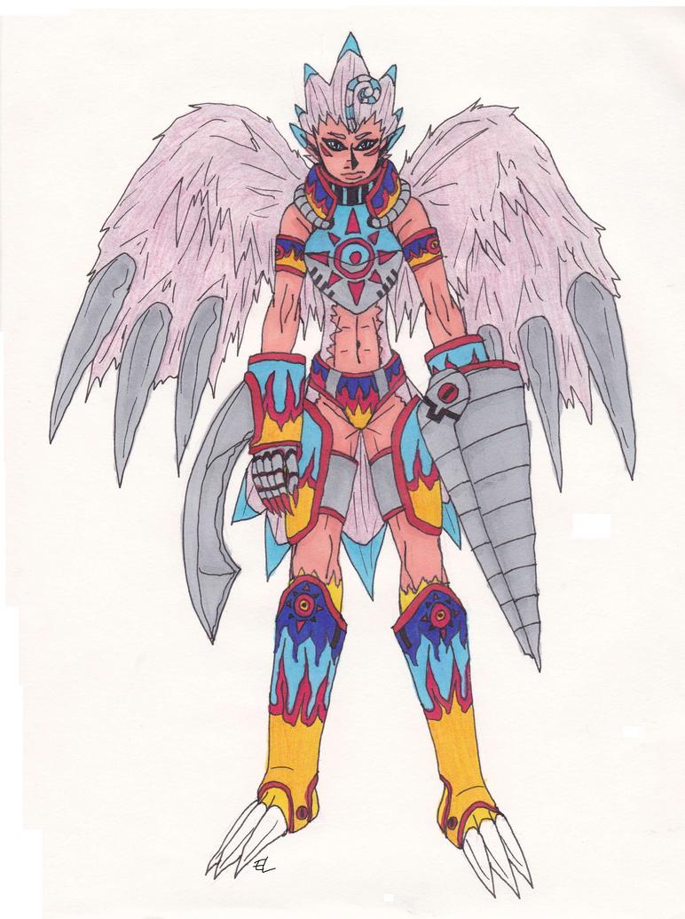 Biyomon: Courage Armor by Eddie-chan