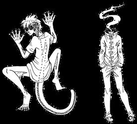Day 14+15: Dullahan and Reptile