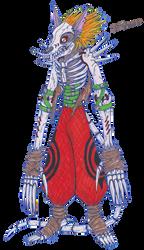 Ruthless Defenders - Digimon - SkullGarurumon by Eddie-chan