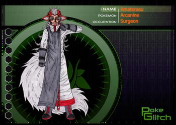 PokeGlitch : Amaterasu by Eddie-chan
