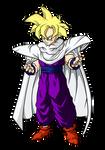 Gohan traje Piccolo by Tch023
