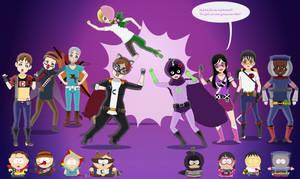SP Costumes: Superheroes P1