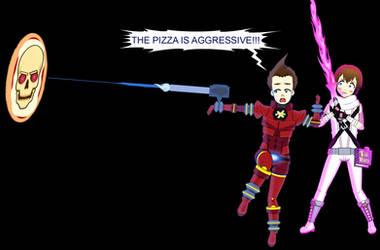 Return of the Pizza monster. by SpyFreakAR15