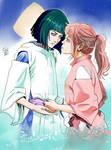 Haku x Chihiro