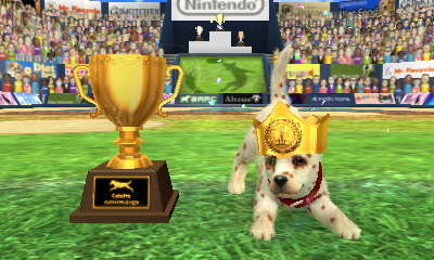 Nintendogs Cup Disc Competition win! by AnnaTheWonderGirl01