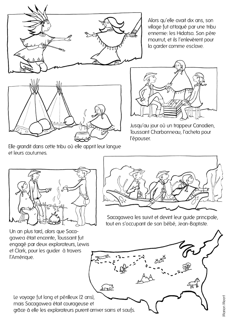 Printable Pictures Of Sacagawea 100