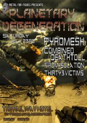 Planetary Degeneration