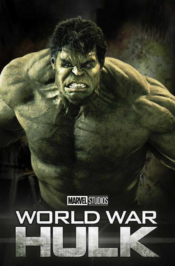 World War Hulk - mock movie poster by BryanUnderwood on ...