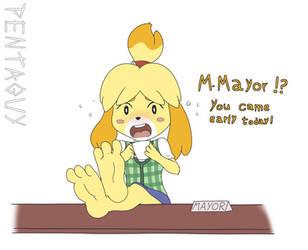 On the mayor's desk by PentaGuy