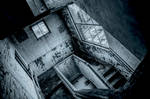 Would Escher have liked this staircase ? by Dystopia-Maxima
