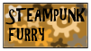 STEAMPUNK FURRY Stamp by NeonMonsterBytes