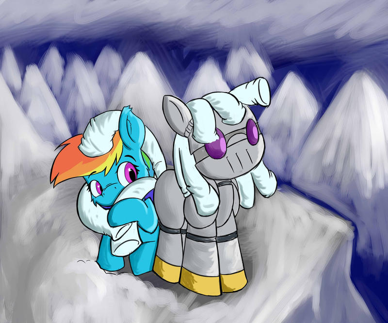 A Robot's Tail is Warm by Maruraba