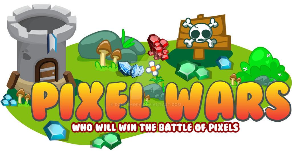 Pixel Wars Logo by DonSemora