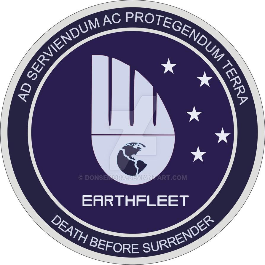 Earthfleet Patch by DonSemora