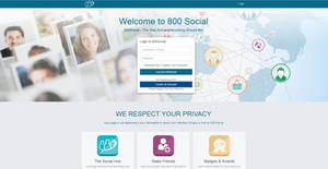 800 Social Site