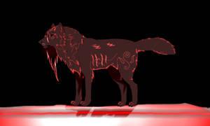 Ragnarok (Wolf OC) for Thanomluk