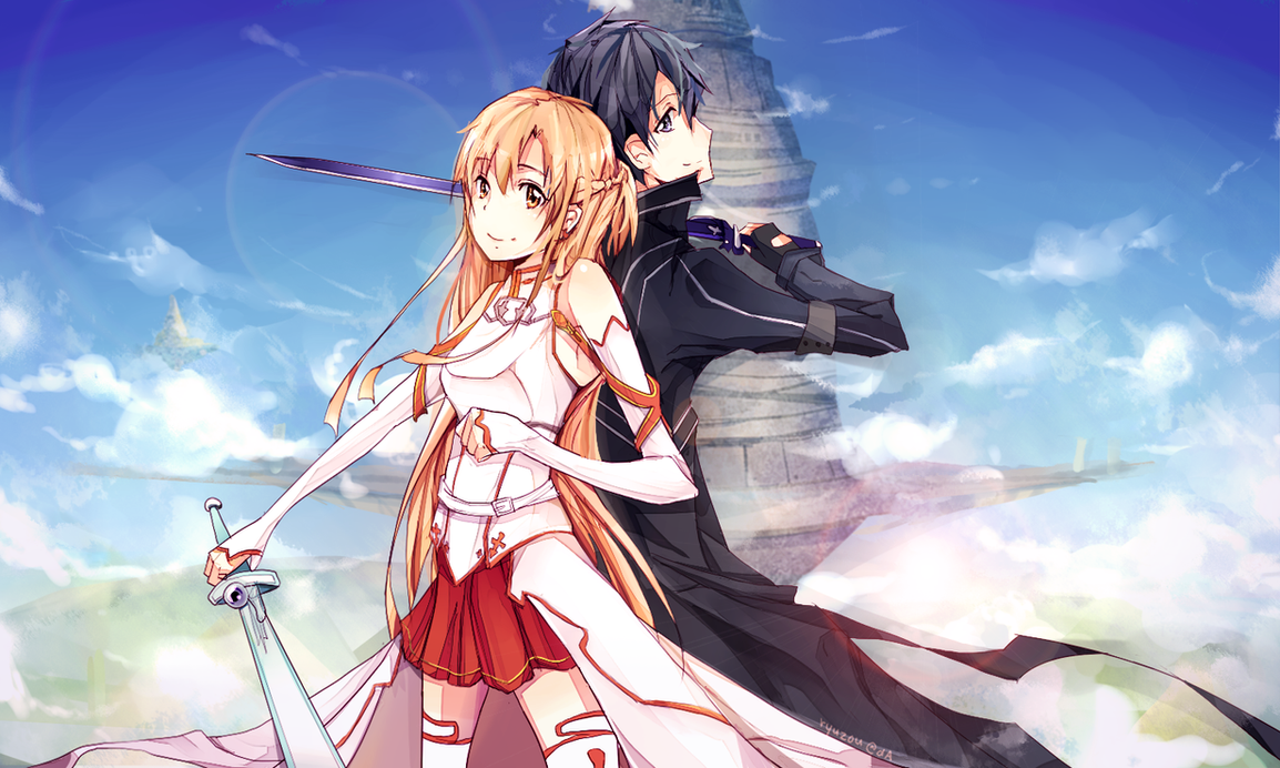 Sword Art Online by ryetou