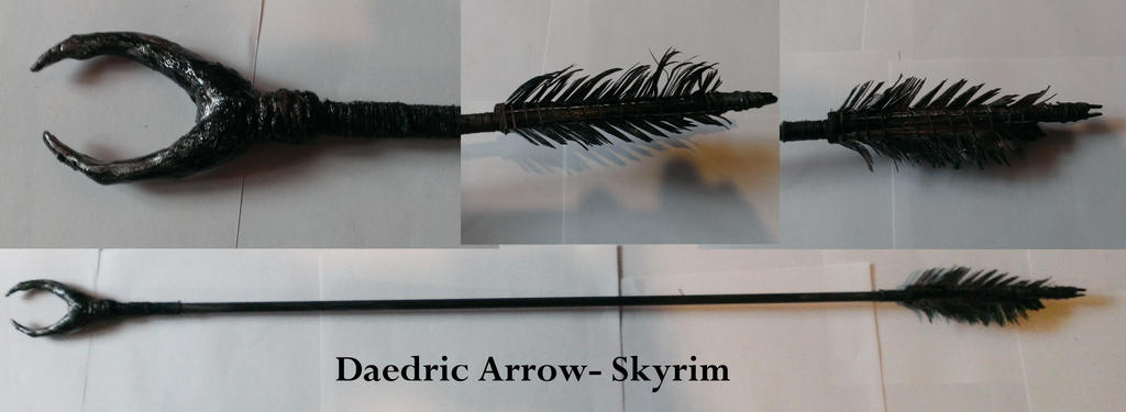how to build arrows in skyrim