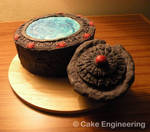 Stargate cake with DHD