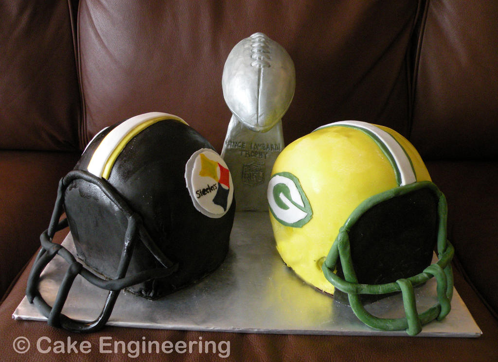 Super Bowl 45 Cake by cake-engineering