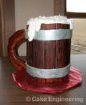 Beer Mug Cake