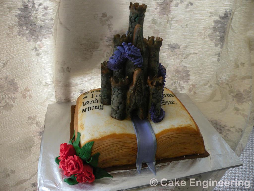 Dragon Storybook cake
