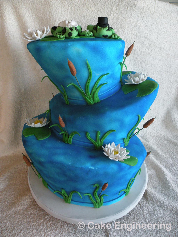 Air Brushed Cake Sculpture