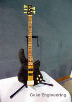 Bass Guitar Cake 2 by cake-engineering