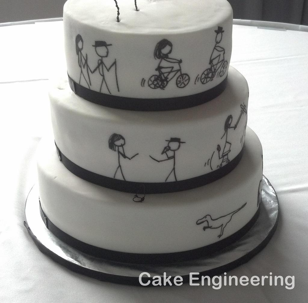 Xkcd Birthday Cake