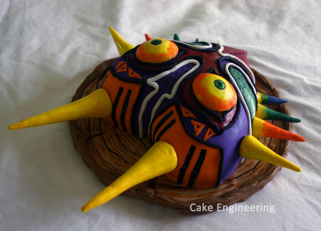 Majora's Mask Cake 2 by cake-engineering