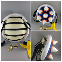 Ludwig Von Koopa Shell Backpack by cake-engineering