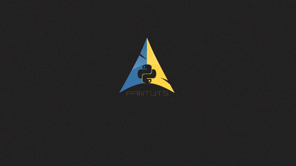 Arch Logo In Python By Sostentado