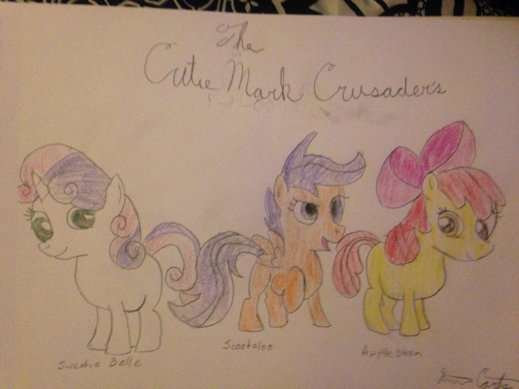 The Cutie Mark Crusader's by carlosisaboss24